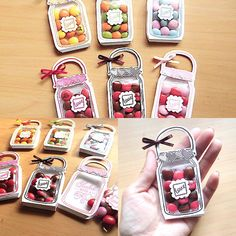 stamp-momo – - Diy Gift For Girlfriend Ideen Handmade Crafts, Diy And Crafts, Crafts For Kids, Paper Crafts, Diy Gift Box, Diy Gifts, Mason Jar Cards, Shaker Cards, Diy Birthday