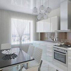 New breakfast table bench cabinets Ideas Luz Natural, Interior S, Decor Interior Design, Interior Decorating, Home Design, Kitchen Flooring, Kitchen Cabinets, Kitchen Lighting Layout, Bed Tray