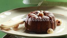 Χαλβάς με σοκολάτα Yummy Food, Yummy Recipes, Muffin, Pudding, Sweets, Cookies, Breakfast, Desserts, Greek