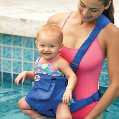 "Babycenter.com: 10 Cool Products That Make Summer Travel Easier features our 4-in-1 Land & Water Baby Carrier.  ""The 4-in-1 Land & Water Baby Carrier is made of saltwater and chlorine-resistant fabric that straps on securely, so you can easily wear your child into the ocean or pool..."""