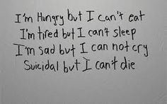 Image result for depression and suicidal thoughts pictures