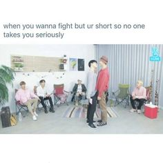 me literally ever time i threaten to fight someone. i'm the shortest person in my friend group