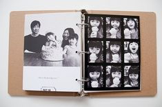 I had thought about ordering a photo book as a family yearbook, but maybe I like this idea better - she's made the phot book/scrapbook so beautiful and simple, and this way I could print pics etc. as I go instead of a huge yearly project... Check it out! Paislee Press paisleepress.com/