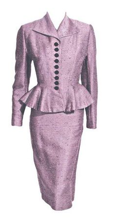 Suit Lilli Ann, 1940s 1stdibs.com