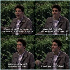 This is why I love Ted Mosby Ted Himym, Ted And Robin, How Met Your Mother, Ted Mosby, Oh My Heart, Still Frame, Falling Out Of Love, Instagram Story Ideas, I Meet You