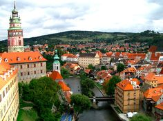 The town of Cesky Krumlov, a UNESCO World Heritage Site, has been around since the 13th century, with the town's castle the second largest i...