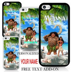 Vaiana / Moana Maui Pua Heihei Disney Cover Case for iPhone Samsung Personalised in Mobile Phones & Communication, Mobile Phone & PDA Accessories, Cases & Covers | eBay!