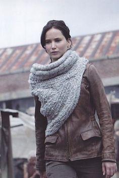 Chal de Katniss - patrón | Aprender manualidades es facilisimo.com