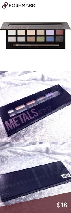 Ulta Metals Eyeshadow Palette Brand new in box. Save the most by bundling. I offer 20% off bundles of just 2 or more items from my closet and I have over 200 items usually including clothes and jewelry. Sorry no trades. Ulta Makeup Eyeshadow