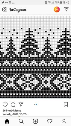 Metsää ja taivas Ssk In Knitting, Diy Crochet And Knitting, Knitting Charts, Cross Stitch Borders, Cross Stitch Charts, Diy Knitting Projects, Norwegian Knitting, Fair Isle Knitting Patterns, Yarn Shop