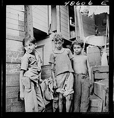 Niños en la Perla San Juan Puerto Rico