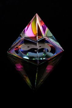 Glass paper weight by aleksandra.lennon, via Flickr