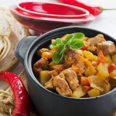 Root Vegetable Casserole with Pork