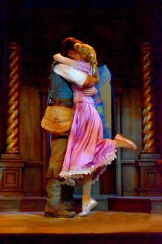 Tangled.....I have to give Dylan a hug like this. Its so adorable
