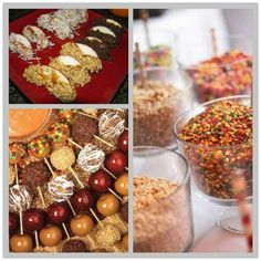 Apple baking & decorating: wedding centerpieces, cider stations, recipes & candy apple parties