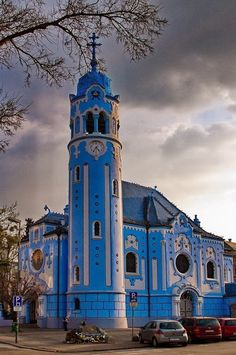 Blue Church, Bratislava - might be neat to visit.