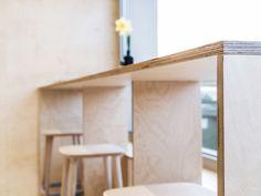 Architect Sanja Premrn designs SPIN bar in Slovenia