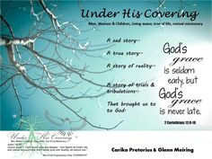 Under His Covering : Carike Pretorius & Glenn Meiring.  The truth about choices.  And the truth about God.