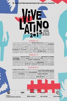 Vive Latino 2015 | Festival Iberoamericano de Cultura Musical  México #mx