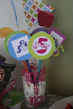 Annamarie's My Little Pony Party | CatchMyParty.com