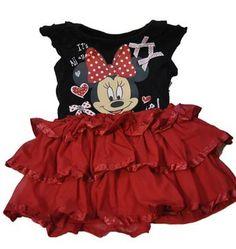 Disney Toddler Minnie Mouse Chiffon Dress