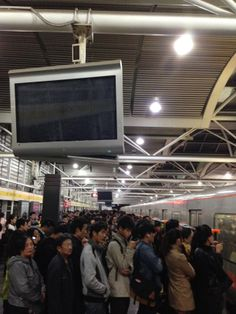 Subway crowdness, Beijing