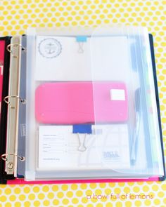 Household Budgeting: Day 1 – Assemble your Binder April 29, 2013 · by Toni