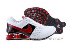 the latest ca377 8f0b8 Men s Nike Shox OZ Shoes White Black Red Online, Price   69.49 - Women  Stephen Curry Shoes Online