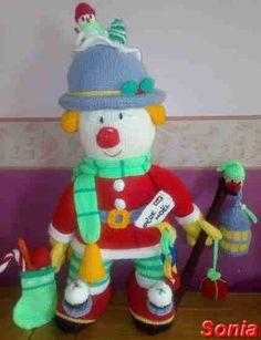 Galerie du clown de Noël