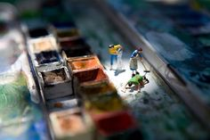 Vincent Bousserez / seeing the world through the eyes of miniature people http://www.flickr.com/people/bousserez/