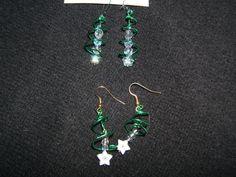 Christmas Trees and Stars Earrings