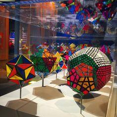 Rubik's Cube exhibit
