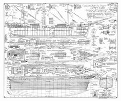 Free Model Ship Plans, Blueprints, Drawings and anything ...