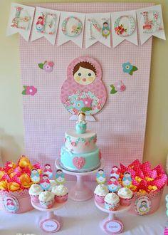 Ideia Festa Infantil Boneca Matryoshka