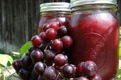Grape Jelly Low Sugar Canning #Recipe