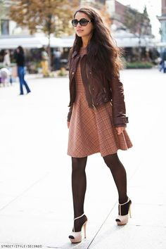 Fall 2013 Brown Dresses For Women Fashion Sen Good Ideas Women