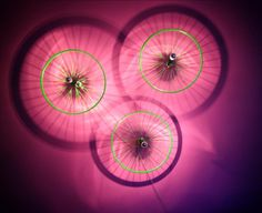 Σύνθεση επιτοίχιων φωτιστικών Circle Eye by CT lights project.