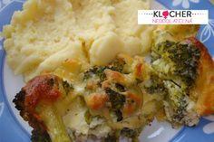 Rýchly obed: Zapekaná brokolica je hotová raz-dva Mashed Potatoes, Ethnic Recipes, Food, Whipped Potatoes, Smash Potatoes, Essen, Meals, Yemek, Eten