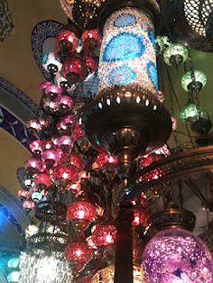lights outside Old Bazaar