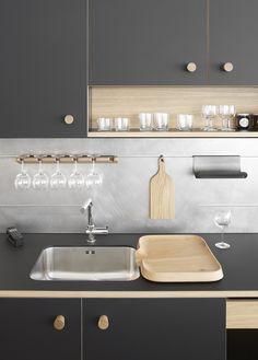 Kitchen of the Week: Jasper Morrison's First Modular Kitchen for Schiffini: Remodelista