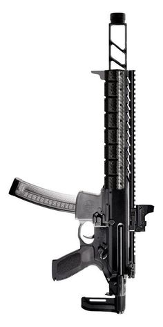 Sig Sauer MPX. Add a tube over the muzzle break and it becomes internally supressed. Christmas????