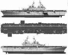 USS LHD-1 Wasp (Amphibious Assault Ship)