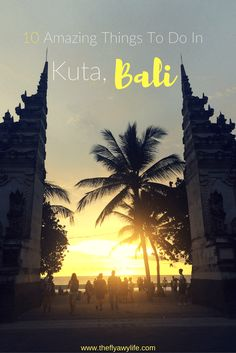 Bali is such a beautiful and diverse island with so many things to do and see. Here are 10 amazing things to do in Kuta, Bali Lombok, Ubud, Kuta Beach Bali, Vietnam, Thailand, Bali Holidays, Bali Travel, Southeast Asia, Amazing Things
