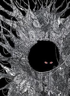 Midori Yamada. 穴猫. 2008.