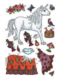 My Little Pony paper doll | Pony paper dolls 7