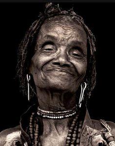 Ethiopian elderly women are beautiful!   photo by David Schweitzer