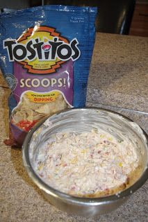 Exploring the Kitchen: Mexican Corn Dip (Ashley's had Tony Chachare's seasoning)