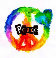 Color me peace..
