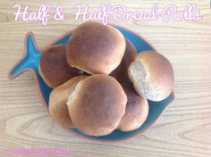 half and half bread rolls Morrisons Feed 4 for £10 Challenge
