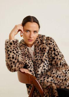 8433bcf55c54 Faux Fur Leopard Print Coat Leopard Print Coat